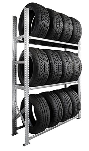 Rack à pneus 3 niveaux P.50 cm SETAM