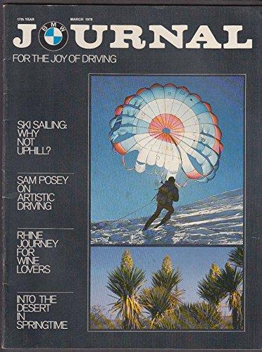 Rhine Wine (BMW JOURNAL Ski Sailing Sam Posey Rhine Wine Motorsport ++ 3 1978)