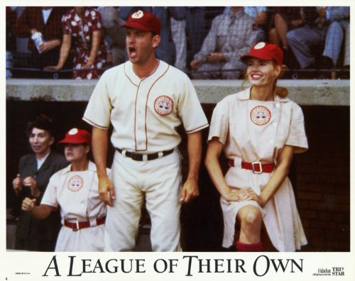 A League of Their Own POSTER Movie (1992) Style D 11 x 14 Inches - 28cm x 36cm (Geena Davis)(Tom Hanks)(Lori Petty)(Madonna)(Rosie O'Donnell)(Megan Cavanagh)(Tracy Reiner) - Davis Movie Poster