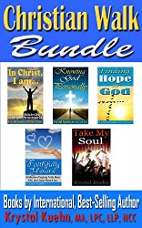 Christian Walk Bundle - In Christ, I am.., Knowing God Personally, Finding Hope in God, Faithfully Yours & Take My Soul