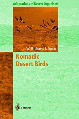 Nomadic Desert Birds (Adaptations of Desert Organisms)
