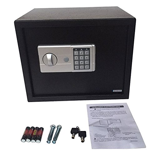 Digital Electronic Security Safe Box Keypad Lock for Home Hotel Office Jewelry Gun Cash Storage (Model E30EM) by Z ZTDM (Image #3)