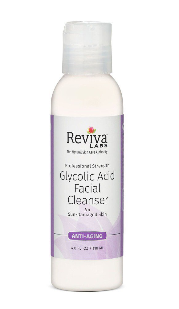 Reviva Glycolic Acid Facial Cleanser 4 oz by Reviva Reviva Labs 185-01