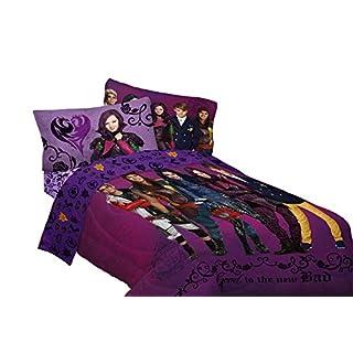"Disney Descendants Best of Both World's Reversible Comforter, 72"" x 86""/Twin/Full, Purple"