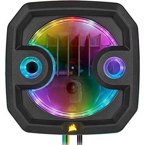 chollos oferta descuentos barato Corsair Hydro X Series Combo Bomba Depósito XD3 RGB Bomba de Alto Rendimiento Xylem DDC PWM Controlador PWM Factor de Forma Compacto Depósito Integrado Iluminación RGB Personalizable Negro