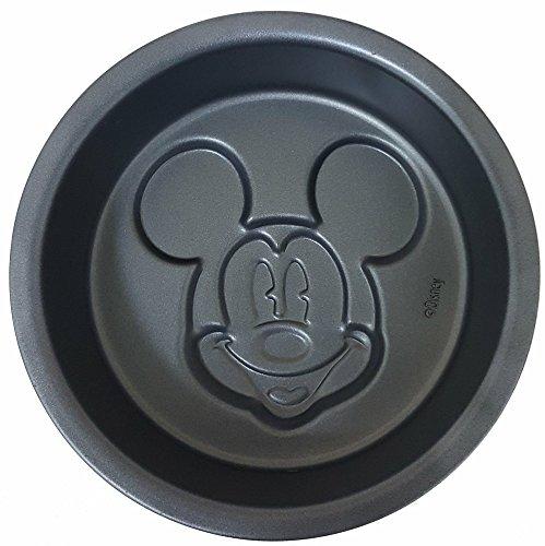 Disney Mickey Mouse Cake Pan Non-Stick Metal Small -