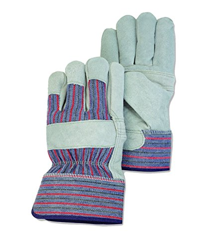General Purpose Suede Palm Work Gloves (5 Pairs)