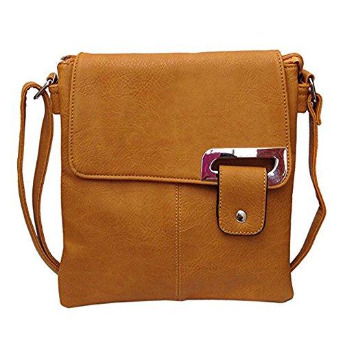 Handbag Body Bag Tan Womens Light Medium Shoulder Cross Travel Messenger Ydezire Trendy 0wpzx7q7X