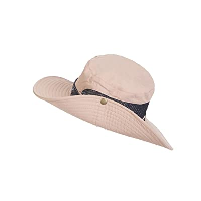 4URNEED Unisex Wide-Brimmed Hat Summer Sun-Hats Outdoor Hats Fishing Hats Hunting Hats Fisherman Cap