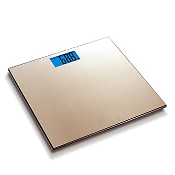 LVZAIXI Báscula de baño digital Accuweight de alta precisión, básculas electrónicas con plataforma de vidrio templado ancho: Amazon.es: Hogar