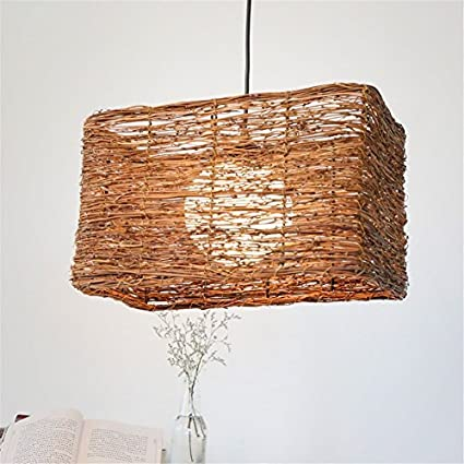 Arturesthome Handmade Rattan Pedant Lamp, IKEA Country