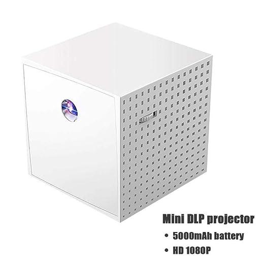 WZHESS Mini proyector Educativo DLP para bebés de 20 W, Interfaz ...