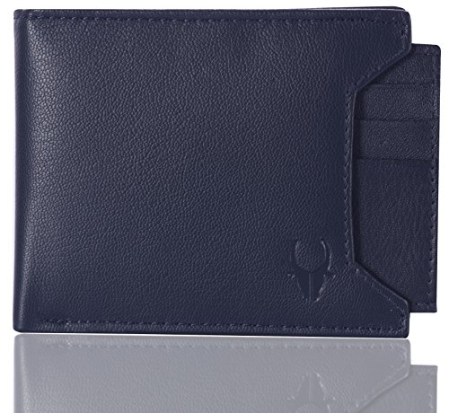 WildHorn Old River Blue Leather Mens Wallet