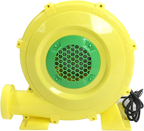Replacement Yard Inflatable Blower Motor Fan Air Pump with 1 Light String Connector 120V 0.63A for Home Lawn Yard Garden Holiday Inflatable Decorations AH2 QH2