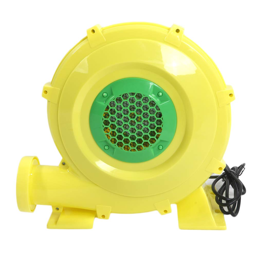 Gijoki Air Blower US Plug 60Hz 6.2A 680W PE Engineering Plastic Shell Air Blower for Small Inflatable Bounce House, Jumper, Bouncy Castle (US Shipment)