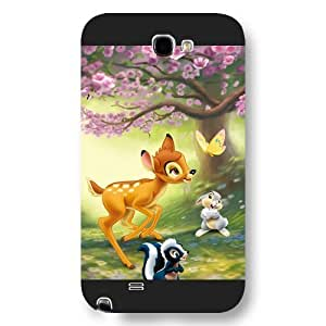 Customized Black Frosted Disney Cartoon Movie Bambi Iphone 5/5S