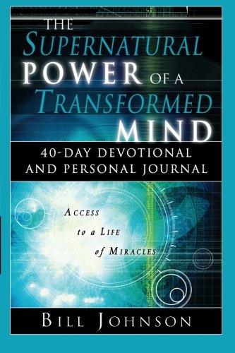 Supernatural Transformed Devotional Personal Journal