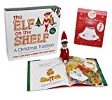 The Elf on the Shelf - Girl Elf Edition with North Pole Blue Eyed Girl Elf , Bonus Snowflake Skirt, and Girl-character Themed Storybook