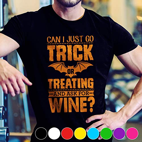Wine Trick Or Treating Wine Halloween 2017 T Shirt Long Sleeve Sweatshirt Hoodie Youth ()