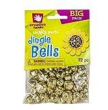 Fibre Craft - Creative Hands Jingle Bell Combo, Gold