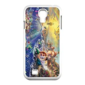 CTSLR The Little Mermaid Hard Case Cover Skin for Samsung Galaxy S4 I9500-1 Pack- 5