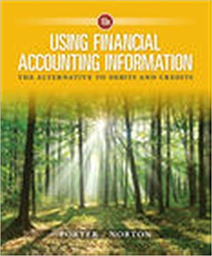 Using financial accounting information the alternative to debits using financial accounting information the alternative to debits and credits 10th edition fandeluxe Images
