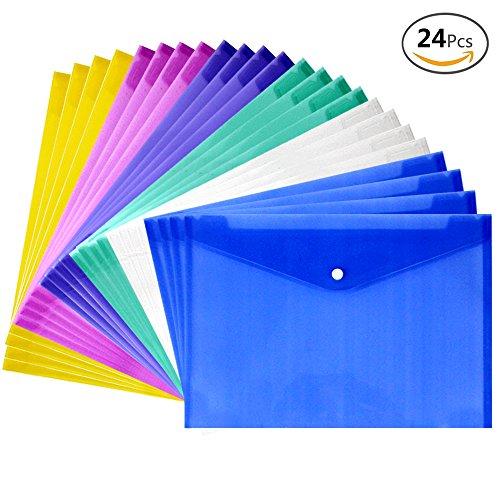 JUSLIN Waterproof Transparent Envelope transparent product image
