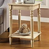 Coaster Home Furnishings Accent Table, Antique White