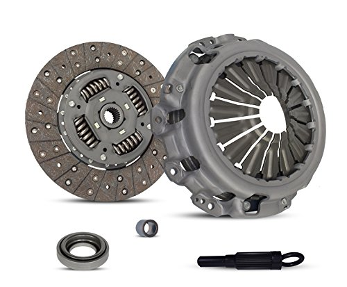 Clutch Kit Works With Nissan Frontier Xterra Sc Sve Se Xe Crew Extended Cab Pickup 2-Door Sport Utility 4-Door 2001-2004 3.3L V6 GAS SOHC Supercharged
