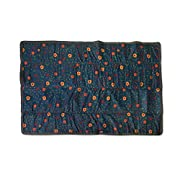 Little Unicorn 5x7 Outdoor Blanket - Midnight Poppy