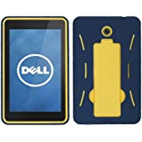 Aimo Wireless 7 Layer Case with Black Stand for Dell Venue – Navy Blue/Yellow
