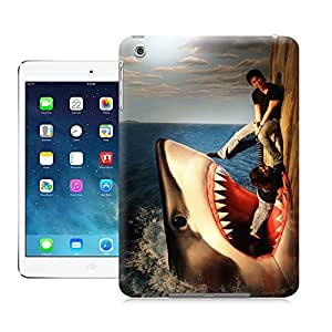 SIYJHO 3D watch out the shark picture of TPU attractive and durable cases for ipadmini
