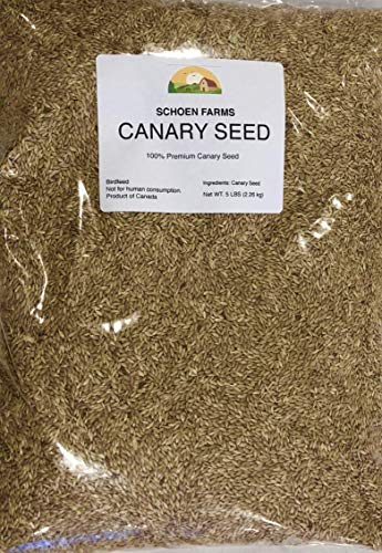 (Schoen Farms Premium Canary Seed for Birds (3 LBS) )
