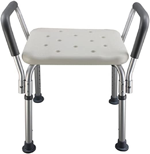 Taburete de baño / Silla de baño de aluminio para personas mayores ...