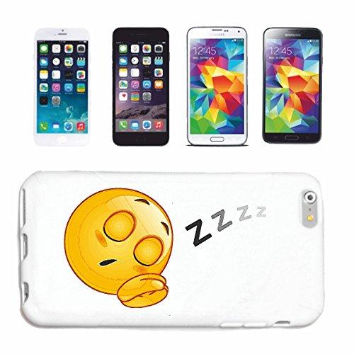 """cas de téléphone iPhone 6S """"FATIGUÉ SMILEY pendant le sommeil """"SMILEYS SMILIES ANDROID IPHONE EMOTICONS IOS grin VISAGE EMOTICON APP"""" Hard Case Cover Téléphone Covers Smart Cover pour Apple iPhone en"""
