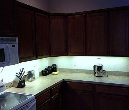 CMC LED Light Strip L& White Waterproof Strip Indoor Outdoor LED Strip Lights 16.4Ft 5M ... & CMC LED Light Strip Lamp White Waterproof Strip Indoor Outdoor LED ...
