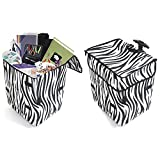 dbest products Smart Cart, Zebra Collapsible