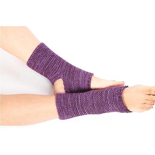 Biback - Calcetines de Yoga de Lana, 1 par, Calentadores de ...