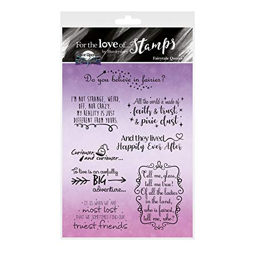 - Hunkydory for The Love of Stamps -Fairytale Quotes FTLS389