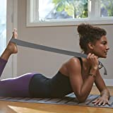 Gaiam Yoga Strap (6ft) Stretch Band with Adjustable