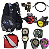 Divers Supply Scuba Package Special of The Month (Small/Grey Computer)
