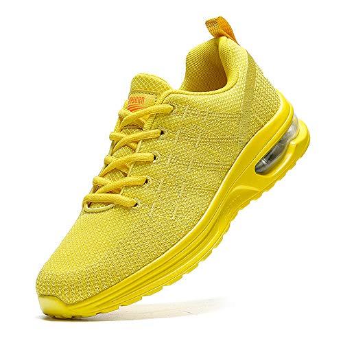 Mens Air Fashion Sneakers Running Walking Tennis Gym Trainers Schoenen Casual Comfortabele Workout Ademend Lichtgewicht…