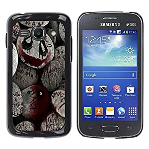 Impact Case Cover with Art Pattern Designs FOR Samsung Galaxy Ace 3 Halloween Spooky Blood Monster Pumpkin Betty shop