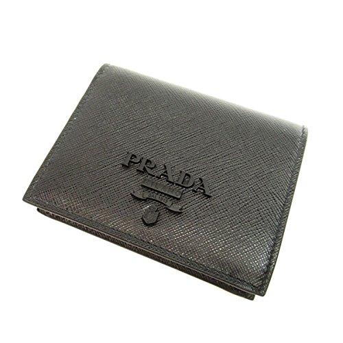 [プラダ] 1MV204 二つ折り財布(小銭入れあり) レザー レディース B07B2PVHR8