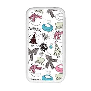 Cartoon Christmas Snowman Phone For Ipod Touch 5 Case Cover