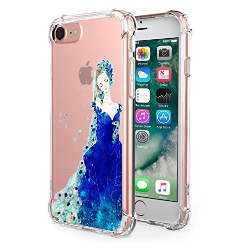 Price comparison product image Apple 7/8 Case Clear Soft TPU Transparent Air Cushion Technology Protector Cover for iPhone 8 Plus [Anti Slip][Scratch Resistant] (7, iPhone 7/8)