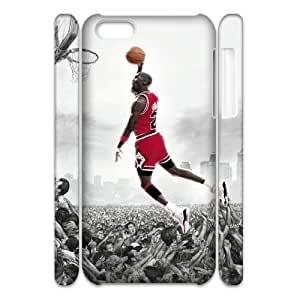 Michael Jordan Brand New 3D Cover Case for Iphone 5C,diy case cover ygtg-689069