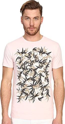 Marc Jacobs Men's Summer Graphic Slim Jersey T-Shirt, Pale Pink, 2XL by Marc Jacobs