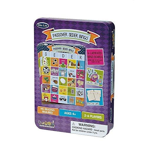Passover Bingo Game With Storage Tin