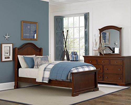 NE Kids Walnut Street Morgan Arch Bed, Chestnut, Twin - Lifestyle Cherry Bed Set